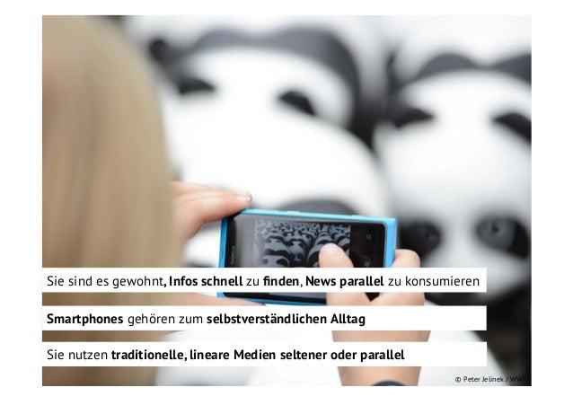 Sie sind es gewohnt, Infos schnell zu finden, News parallel zu konsumieren Smartphones gehören zum selbstverständlichen All...