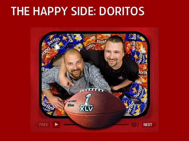 the happy side: doritos<br />