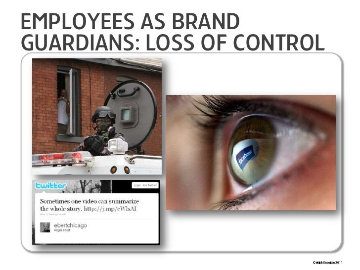 Employees as Brand Guardians: Loss of Control<br />© Hill & Knowlton 2011<br />