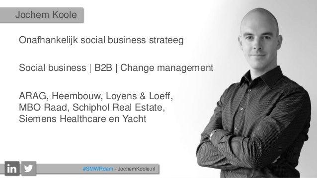 """""""Killing buzzwords"""" - Wat het zakelijk inzetten van social media echt betekent (voor B2B organisaties) Slide 2"""