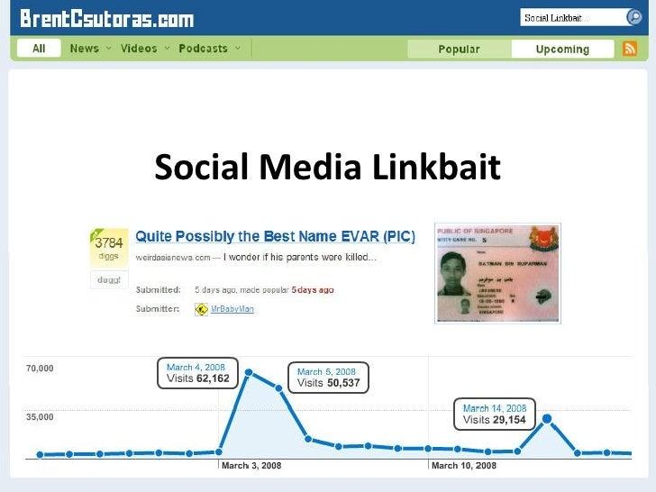<ul><li>Social Media Linkbait </li></ul>