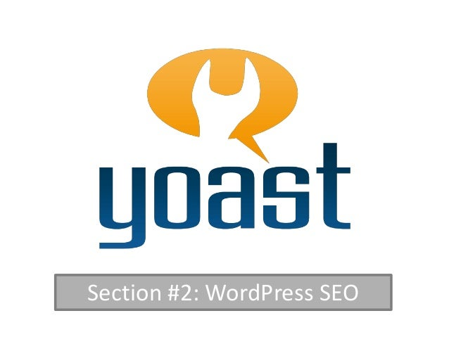 Section #2: WordPress SEO