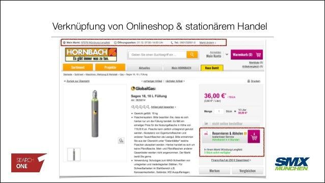 Verknüpfung von Onlineshop & stationärem Handel