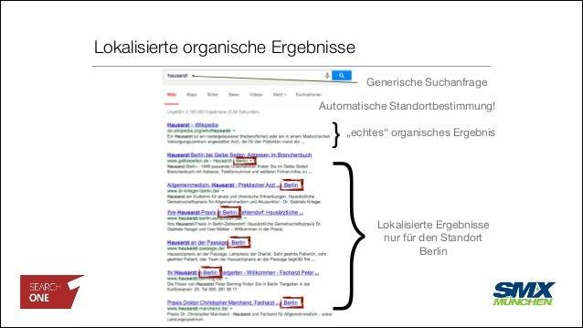 """Lokalisierte organische Ergebnisse Lokalisierte Ergebnisse nur für den Standort Berlin """"echtes"""" organisches Ergebnis } Aut..."""