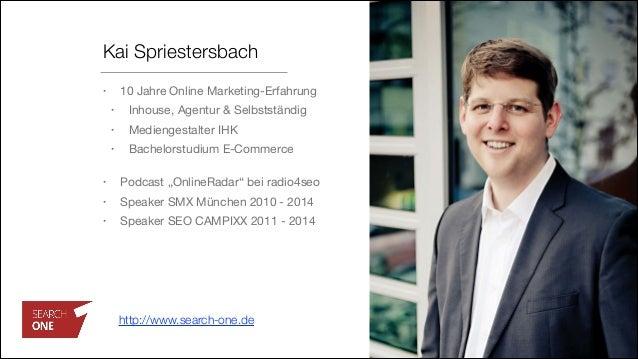 Kai Spriestersbach • 10 Jahre Online Marketing-Erfahrung  • Inhouse, Agentur & Selbstständig  • Mediengestalter IHK  • Bac...