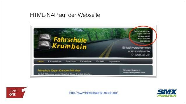 HTML-NAP auf der Webseite http://www.fahrschule-krumbein.de/