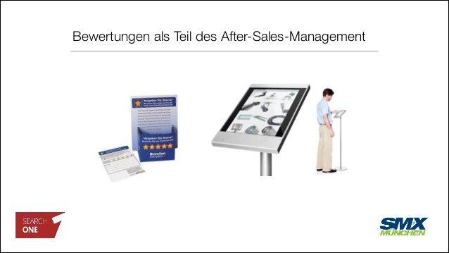 Bewertungen als Teil des After-Sales-Management
