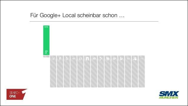 Für Google+ Local scheinbar schon …