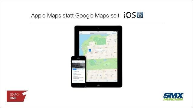 Apple Maps statt Google Maps seit