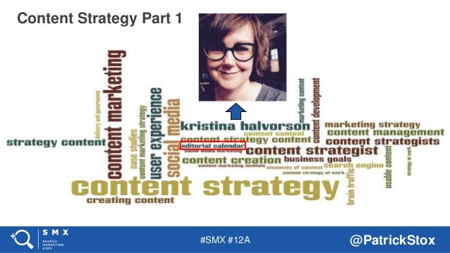 #SMX #12A @PatrickStox Content Strategy Part 1