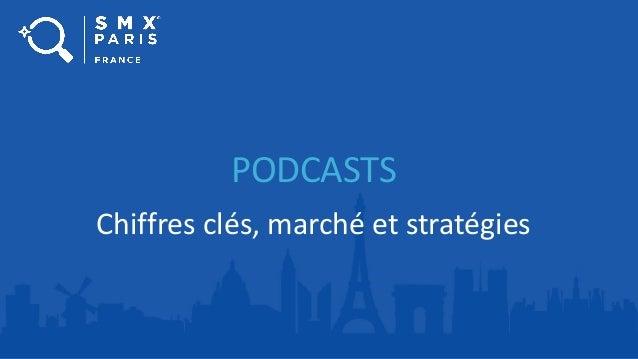 PODCASTS Chiffres clés, marché et stratégies