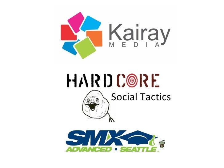 Social Tactics