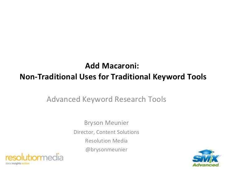 Smx advanced keyword research tools Slide 2