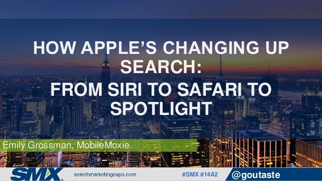 How Apple's Changing Up Search: From Siri to Safari to
