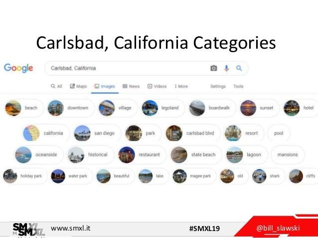 @bill_slawskiwww.smxl.it #SMXL19 Carlsbad, California Categories