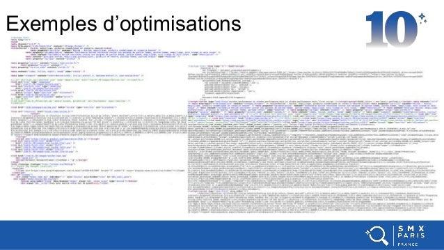 Exemples d'optimisations