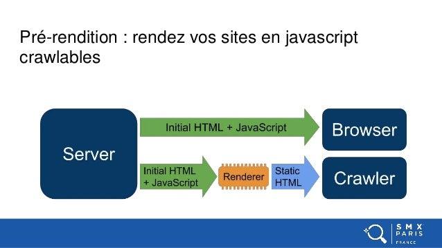 Pré-rendition : rendez vos sites en javascript crawlables