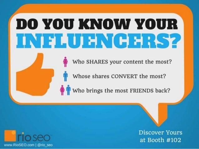 Social Analytics & Influencer Retargeting spotlight @ SMX Social 2013