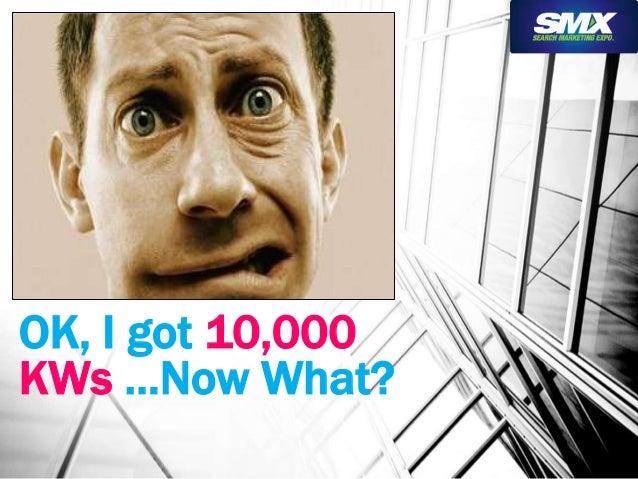 OK, I got 10,000  KWs …Now What?
