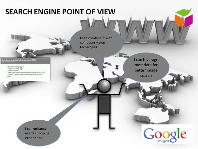 SEARCH ENGINE POINT OF VIEW                      I can combine it with                      computer vision               ...