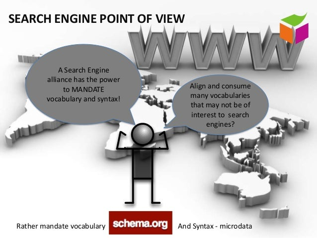 SEARCH ENGINE POINT OF VIEW             A Search Engine         alliance has the power               to MANDATE           ...