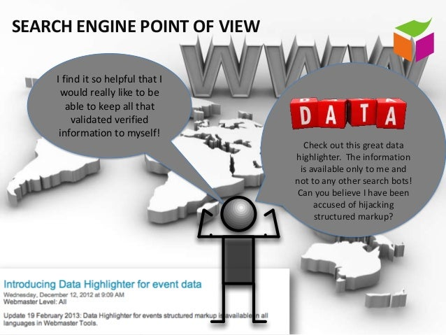 SEARCH ENGINE POINT OF VIEW    I find it so helpful that I     would really like to be       able to keep all that        ...