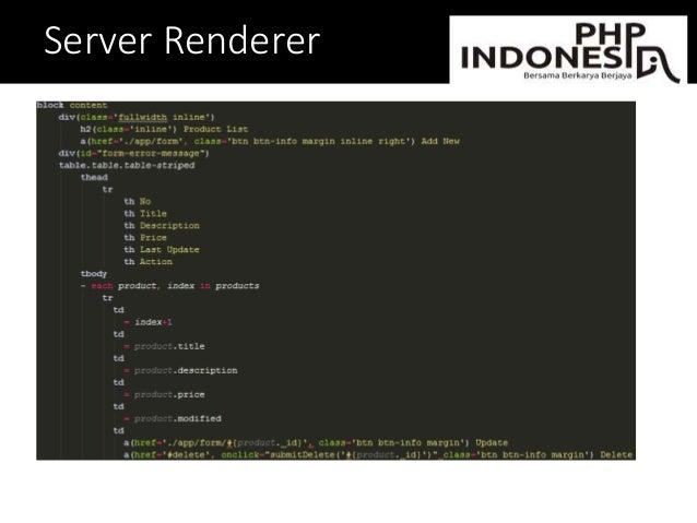 Server Renderer