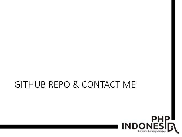 GITHUB REPO & CONTACT ME