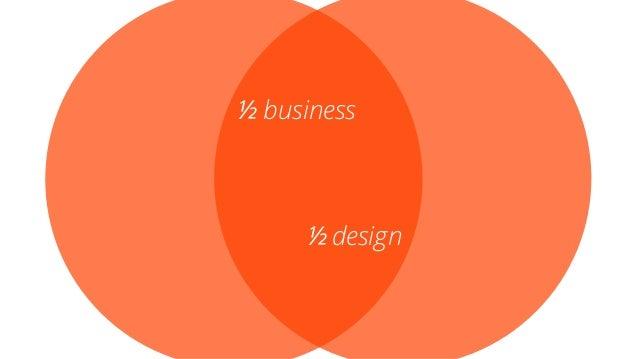 ½ business ½ design