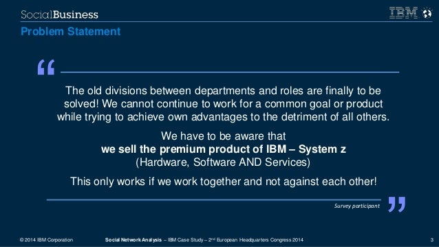 an analysis of the ibm case Strategic marketingassignment of strategic marketing   for downloading this report and m.