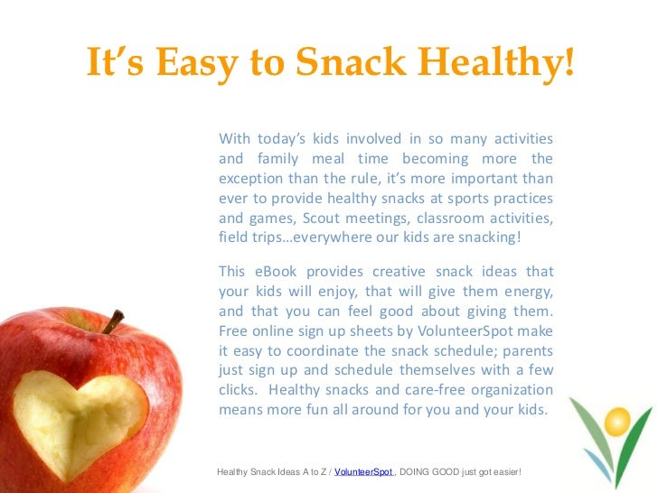 healthy snack ideas for kids and teams
