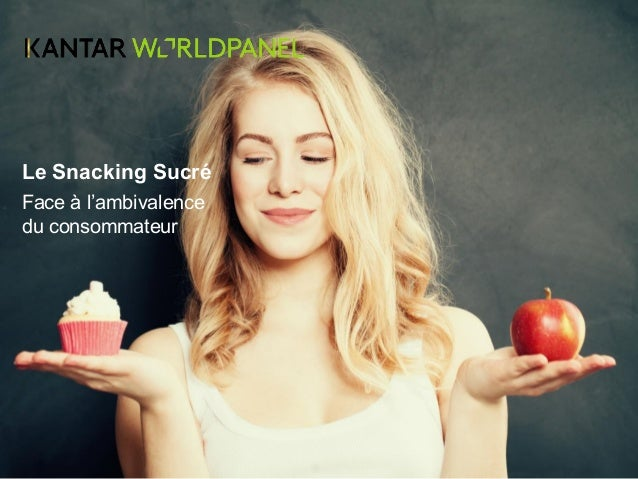 Le Snacking Sucré Face à l'ambivalence du consommateur