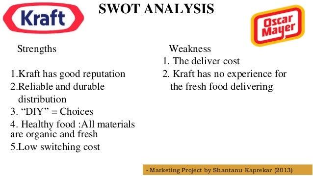kraft foods swot analysis