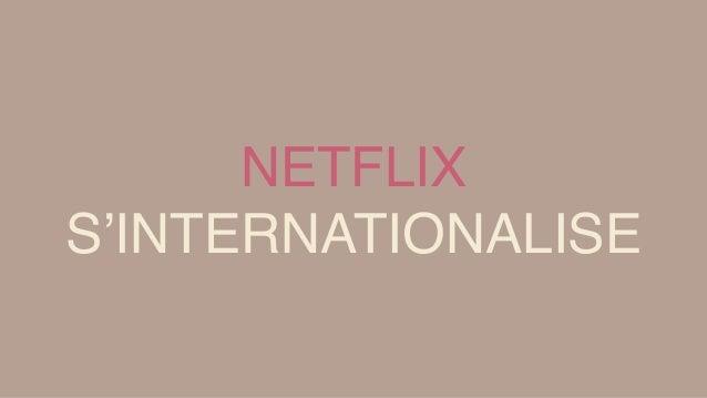 PLAT A L'ETRANGER + 7,35 millions d'utilisateurs à l'étranger en 2014 Rentrée 2014 : Netflix s'installe en Europe Reed Hast...