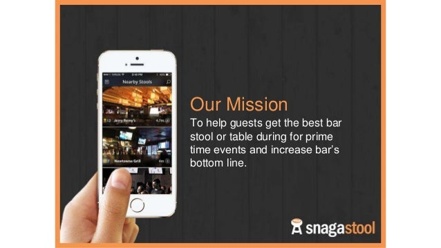 Snagastool Incubator Application
