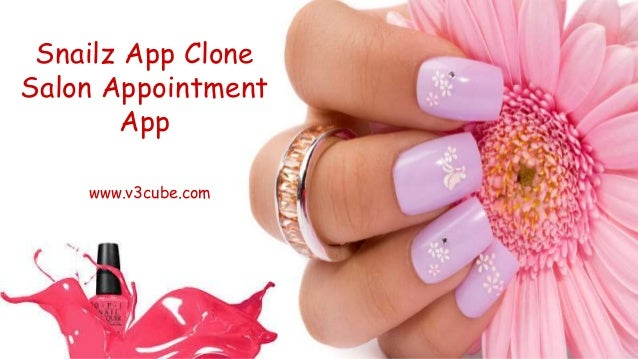 Snailz App Clone Salon Appointment App www.v3cube.com