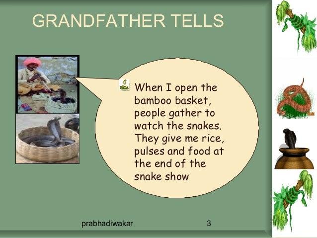Snakecharmer's story