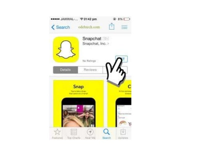 how to go to snapchat settings