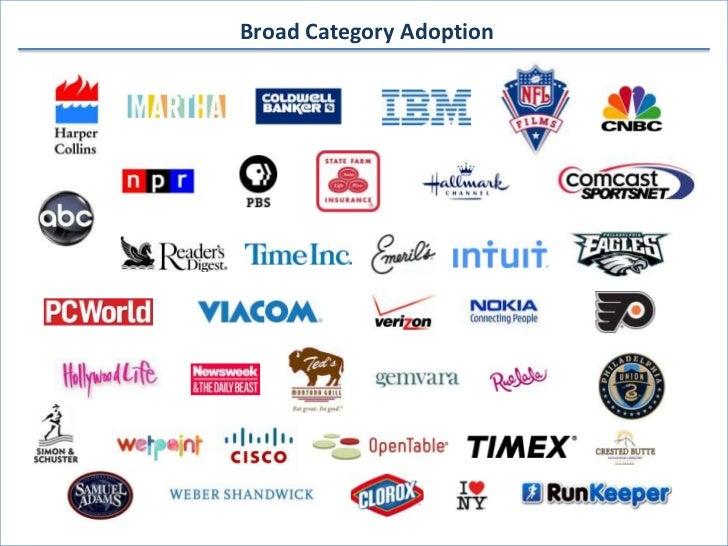 Broad Category Adoption