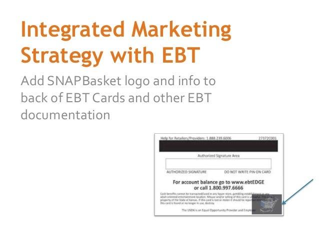 Social Good App for EBT Users: SNAPBasket