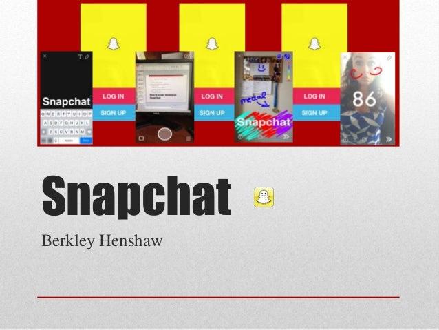 Snapchat Berkley Henshaw