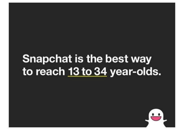 Snapchat Advertising Sales Deck