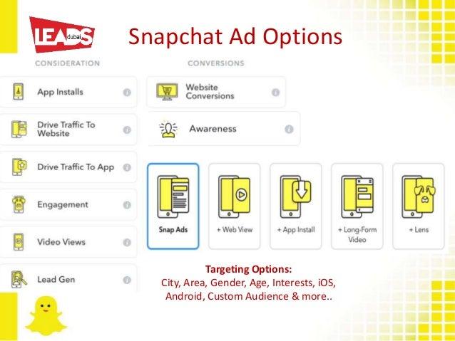 Snapchat Ads In Dubai  Examples & Case Studies