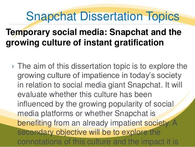 media and culture dissertation topics