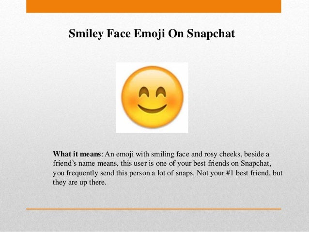 Snapchat Emojis Meaning Explained by SocioBlend