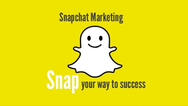 your way to successSnap Snapchat Marketing