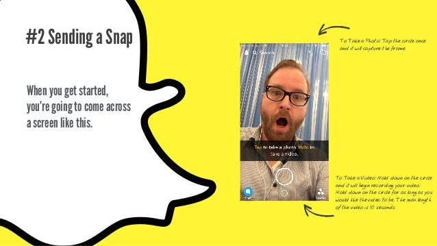 If you don't like the first version of your Snap, you don't have to worry. View your Snap before sending it! Decide if you...
