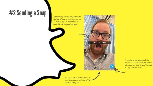 Optional: Getting Fancy Different fonts and text size Snapchat gives you a wide range of functionality to take your snaps ...