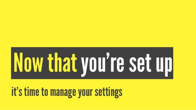 Settings You Need As A Brand Snapchat for a brand is different from Snapchat for a person. As an individual, you worry abo...