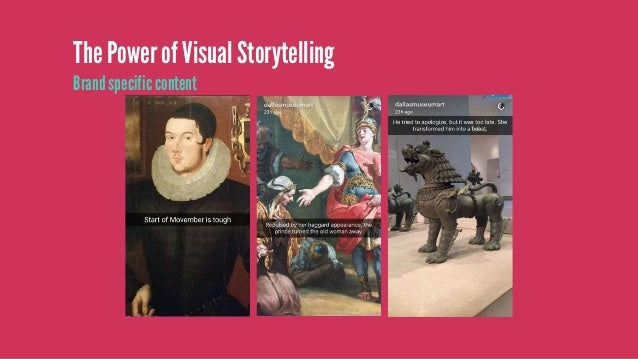 The Power of Visual Storytelling Behind the scenes content (give a sneak peak) Source: http://creativity-online.com/work/u...